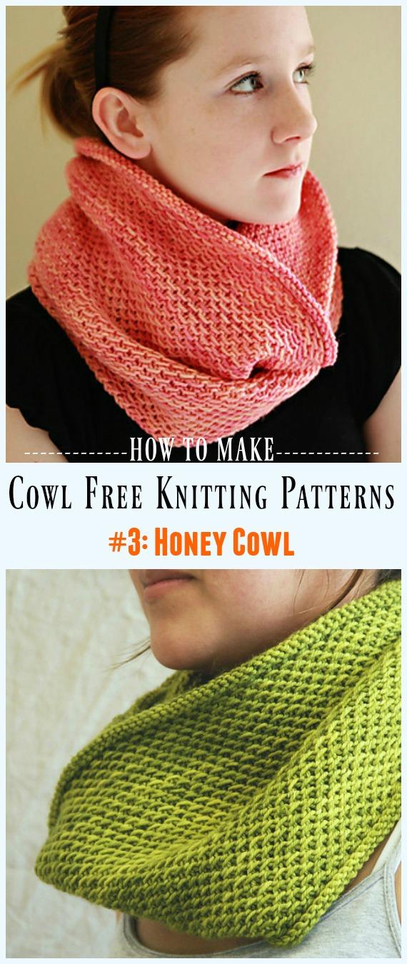 Padrão de tricô livre de capuz mel - Sem capuz # Padrões de tricô