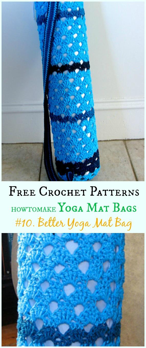 Crochet Yoga Mat Bag Free Patterns