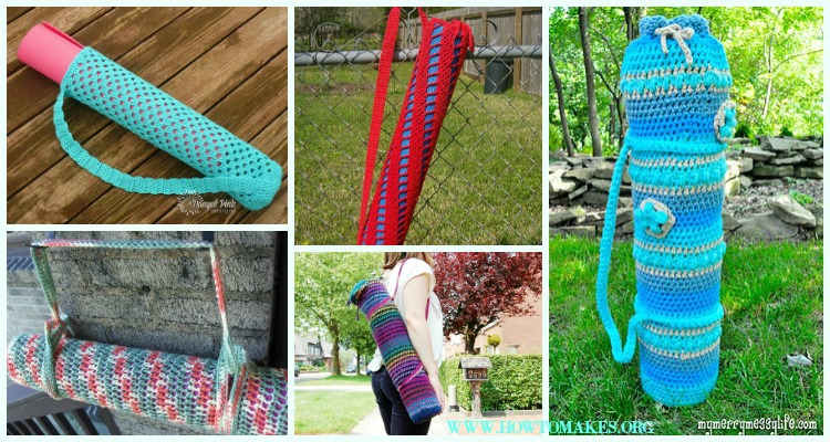Magnificent Knit Yoga Mat Bag Pattern Photos Easy Scarf