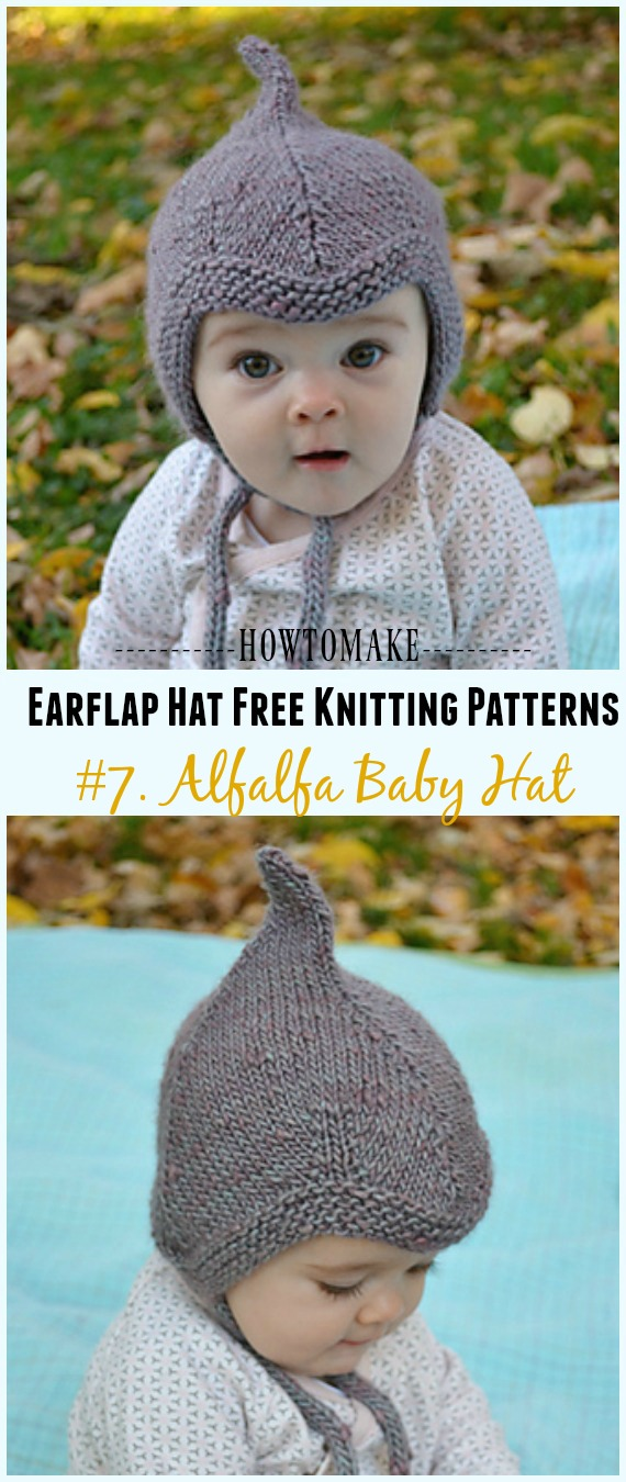 Earflap Hat Free Knitting Patterns Page 2 Of 3 Crochet Knitting