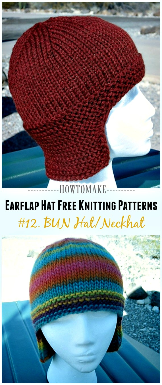 Earflap Hat Free Knitting Patterns Page 3 Of 3 Crochet