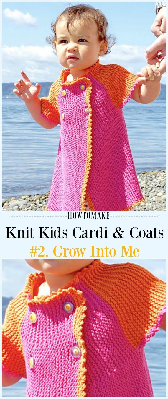 f3e9430b0 Grow Into Me Cardigan Free Knitting Pattern -  Knit Kids  Cardigan Sweater  Free Patterns