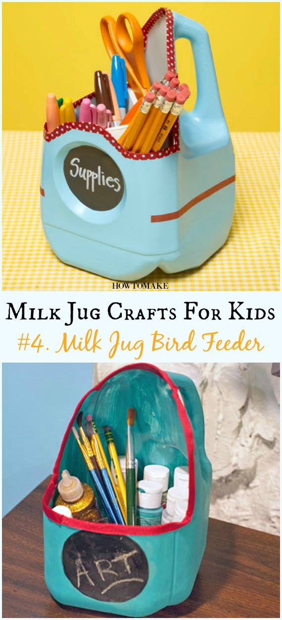 Recycled Milk Jug Crafts Your Kids Can Do