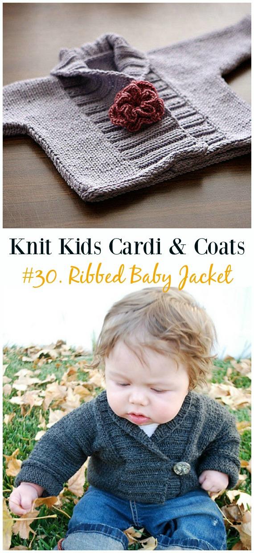 691a01cf173 Kids Cardigan Sweater Free Knitting Patterns