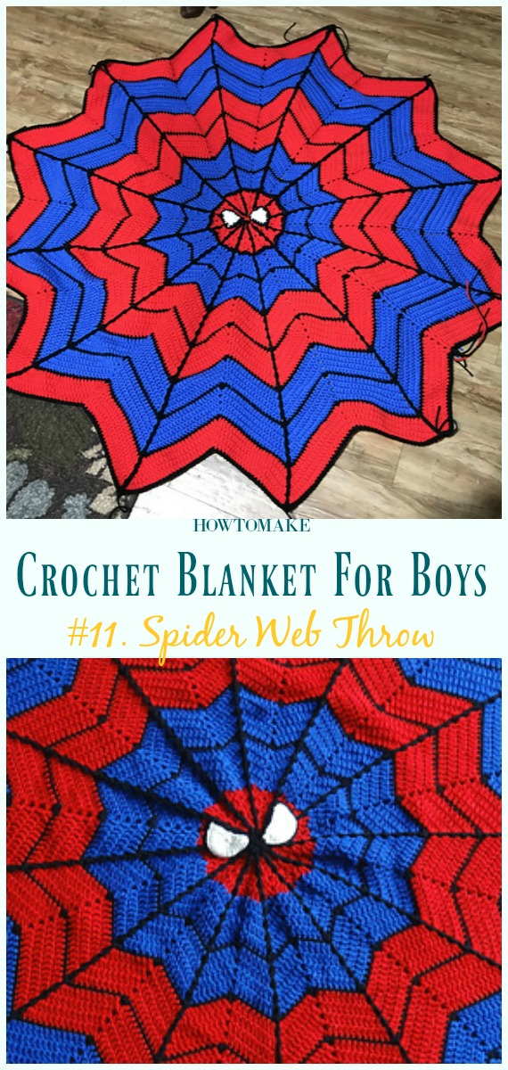 Crochet Blanket Free Patterns For Boys