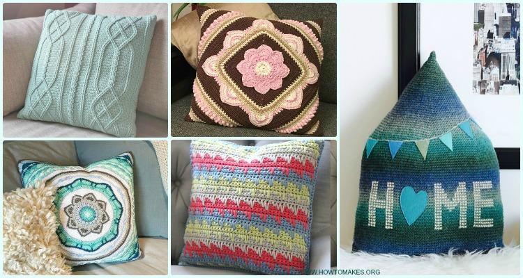 Crochet Decorative Pillow Free Patterns [Pillow Case Pillow Cover] Impressive Free Decorative Pillow Patterns
