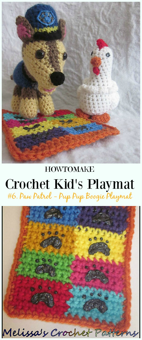 Kid S Playmat Crochet Patterns Kid Outdoor Blanket Gifts