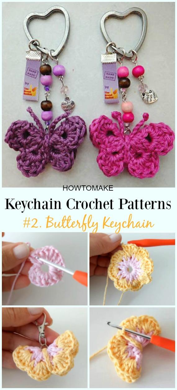 Cute And Fun Keychain Crochet Patterns Free