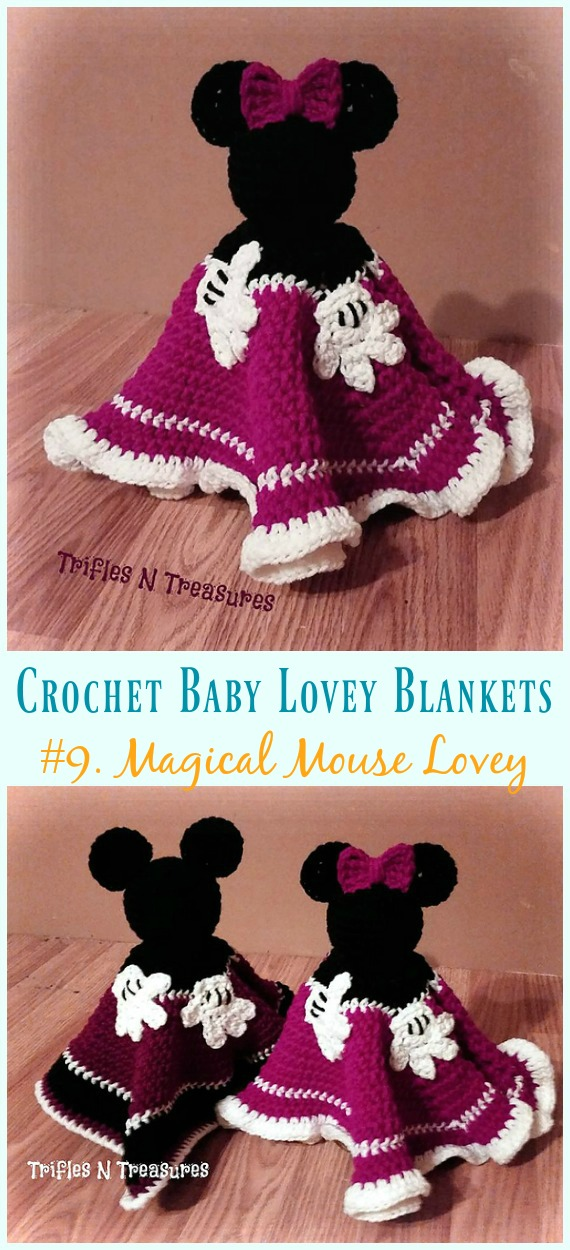 Baby Lovey Blanket Free Crochet Patterns