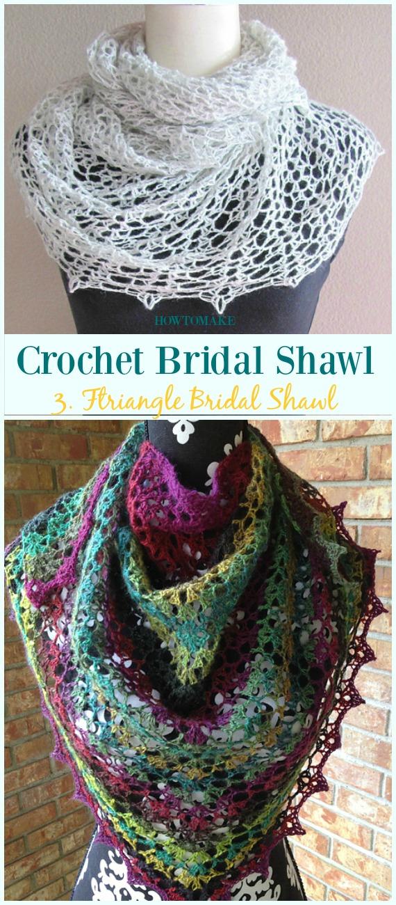 Crochet Bridal Shawl Free Patterns For Wedding Elegance