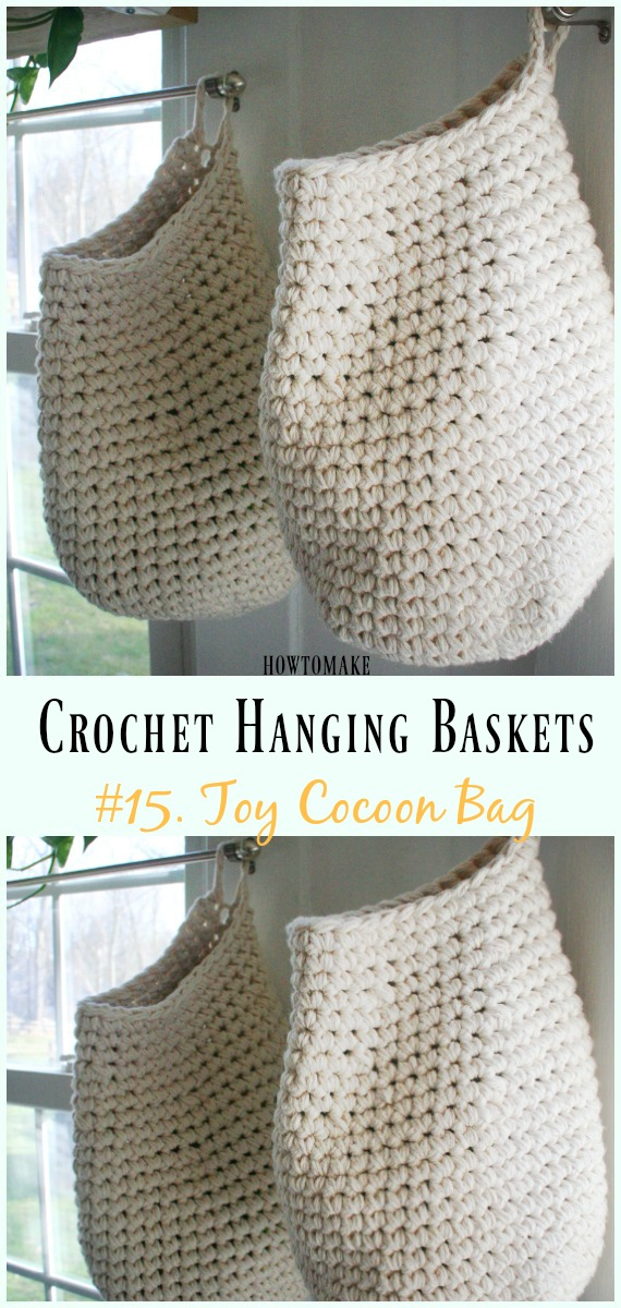 Hanging Basket Free Crochet Patterns