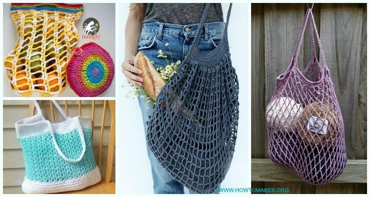 crochet market bag patterns