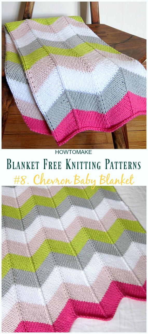 Easy Blanket Free Knitting Patterns To Level Up Your