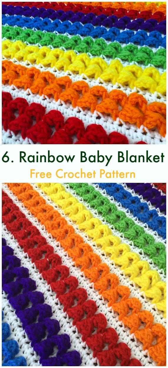 Bobble Popcorn Blanket Free Crochet Patterns