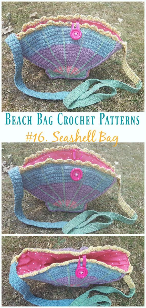 Summer Beach Bag Free Crochet Patterns