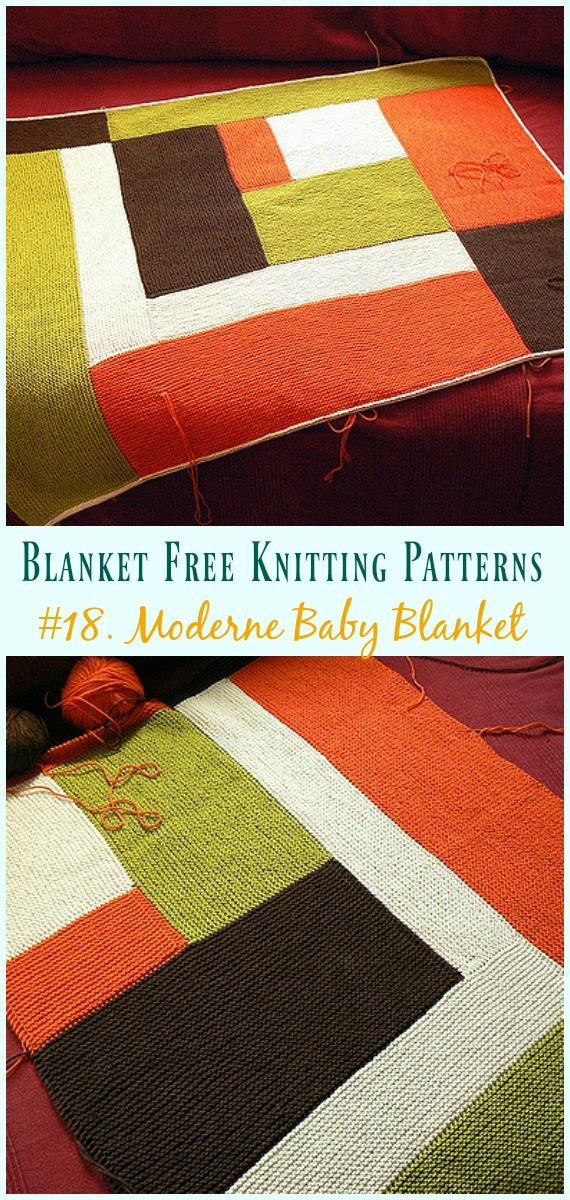 ede832b5d Easy Blanket Free Knitting Patterns To Level Up Your Knitting Skills