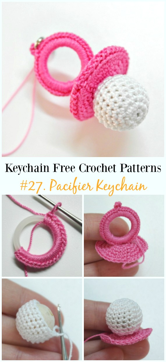 Cute And Fun Keychain Crochet Patterns Free
