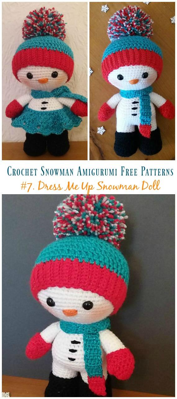 Dress Up Dolls Amigurumi Crochet Patterns - Crochet Pattern Book ... | 1280x570