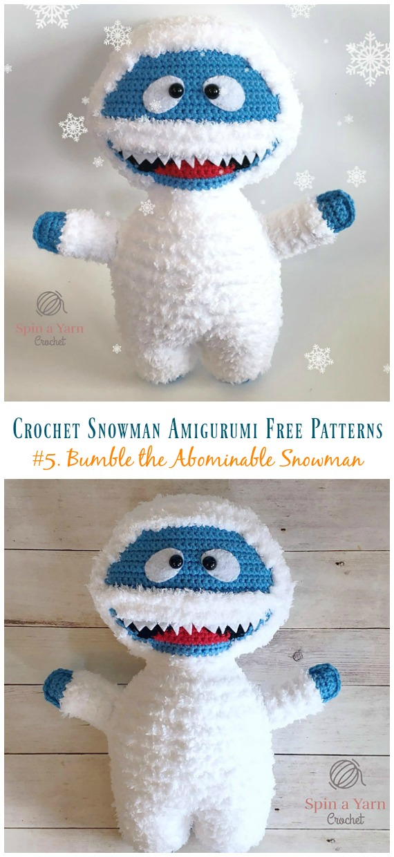 Crochet Snowman Amigurumi Free Patterns - Crochet & Crafts