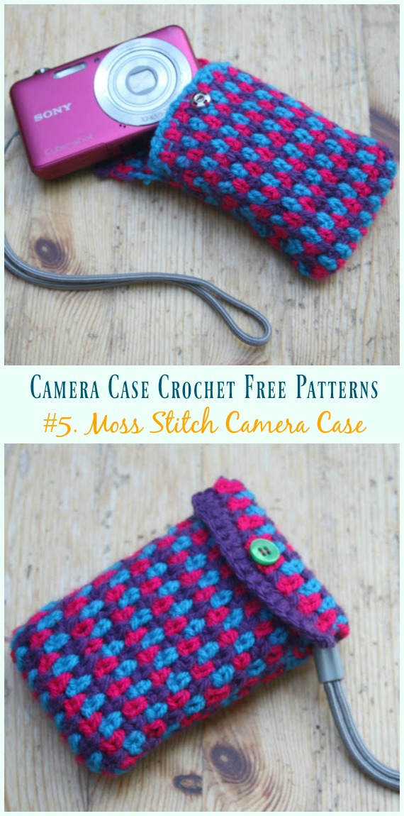 Cozy Camera Case Crochet Free Patterns