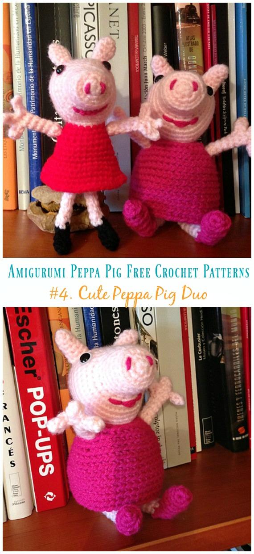 Peppa Pig - free crochet pattern - Amigurumi Today | 1240x570