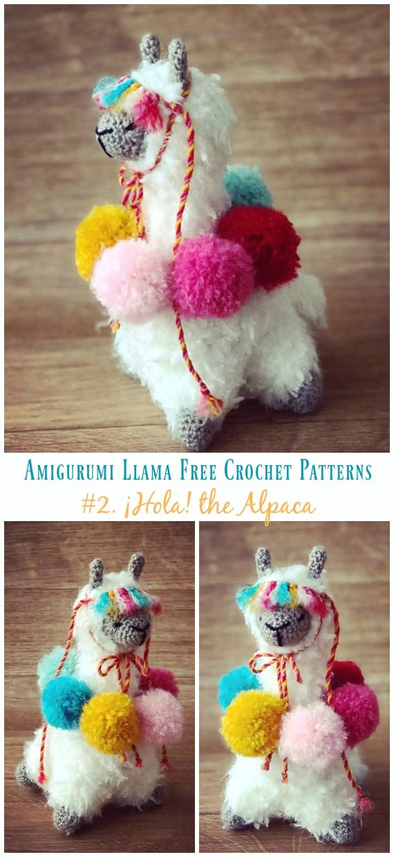 Alicia the Alpaca Amigurumi Crochet Pattern | Etsy | 1240x570