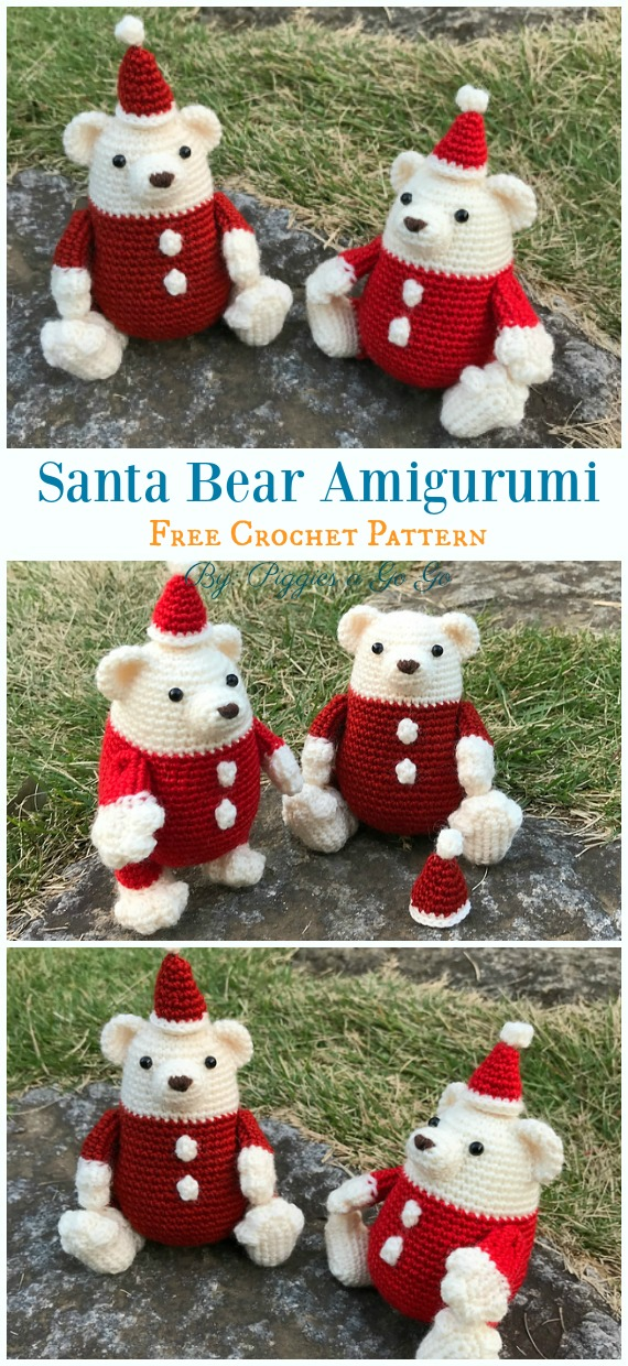 Amigurumi Crochet Christmas Softies Toy Free Patterns | 1240x570