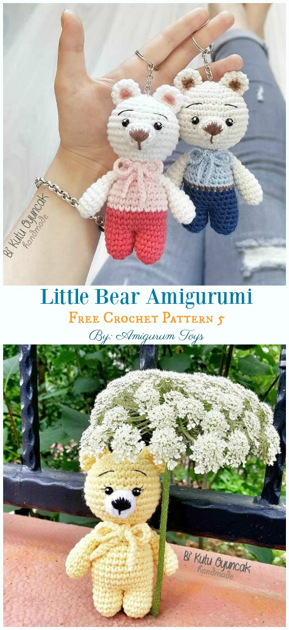 Amigurumi Bear Toy Laying On A Soft Lace And Fur Stockfoto und ... | 1240x570