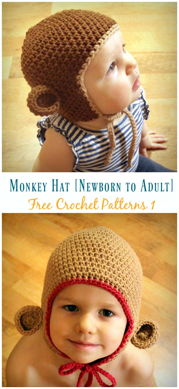 Baby Knitting Patterns Mike the Monkey - Amigurumi Crochet Pattern ... | 1240x570