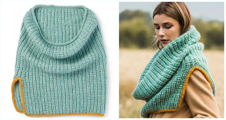 Women Cowl Free Knitting Patterns