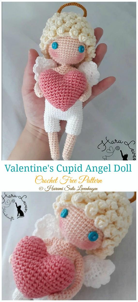 Amigurumi Princess Doll in Cape Crochet Free Pattern | 1250x570