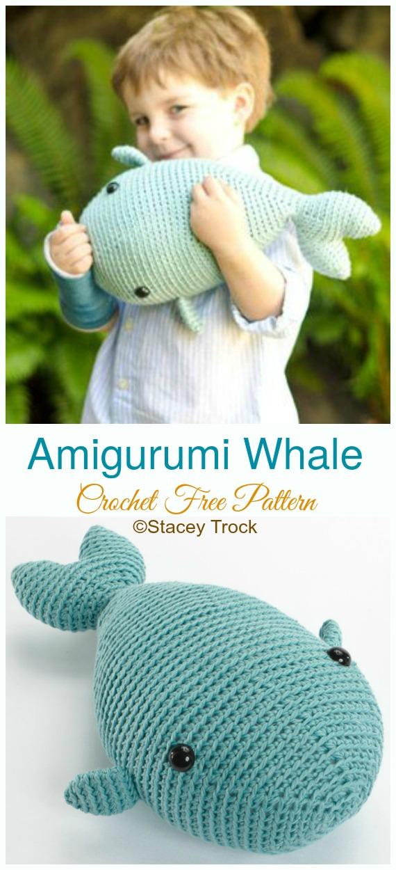 Amigurumi Humpback Whale Knitting Pattern arşivleri - amigurumi ... | 1250x570