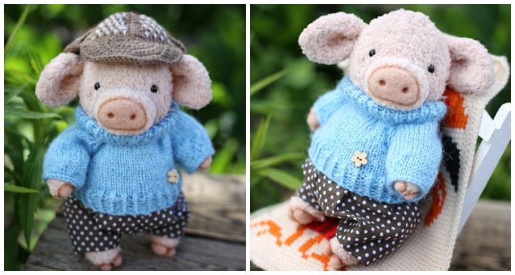 amigurumi pig tutorial - crochet pig - YouTube | 400x750