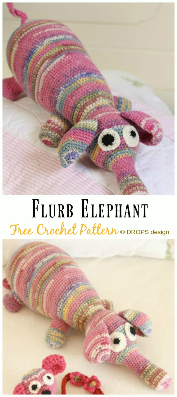 The Sweetest Crochet Elephant Patterns To Try | The WHOot | 1280x570