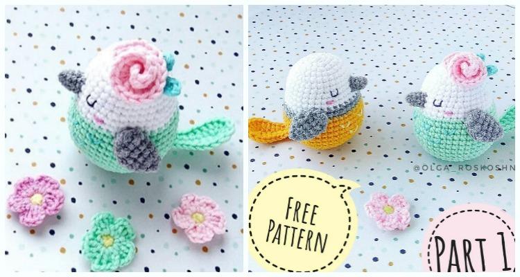 Crochet Bird Amigurumi Free Patterns | Crochet patterns amigurumi ... | 400x750