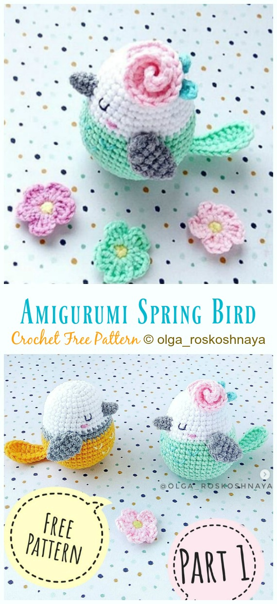 Stay at home and crochet - 4 amigurumi patterns | lilleliis | 1240x570