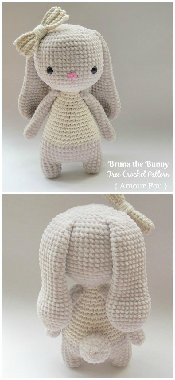 Ravelry: Velvet Bunny Amigurumi pattern by Erangi Udeshika | 1240x570