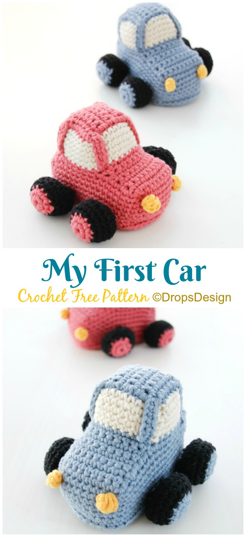 Dino / DROPS Children 24-7 - Free crochet patterns by DROPS Design | 1240x570
