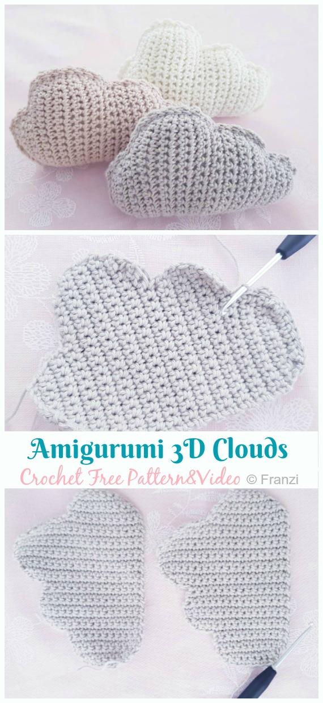Crochet Rainbow Baby Mobile Is A Fab Free Pattern | Crochet baby ... | 1240x570