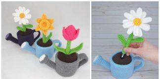 Amigurumi Happy Sunflower Crochet Free Pattern - Crochet & Knitting | 160x324