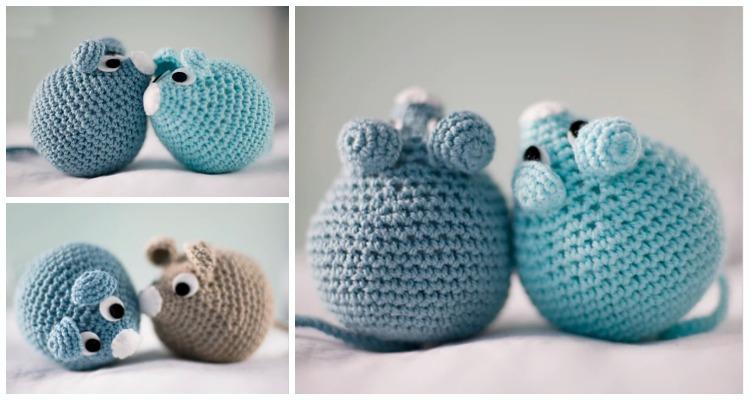 Sweet Mouse Amigurumi Free Crochet Patterns | 400x750
