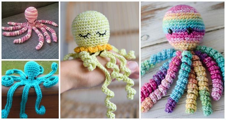 Kawaii Octopus Crochet Pattern | Octopus crochet pattern, Crochet ... | 400x750