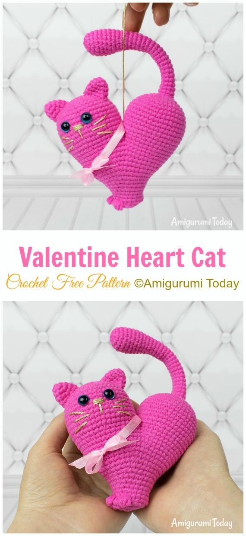 Crochet 3D Valentine's Day Heart / Amigurumi For Beginners - YouTube | 1240x570