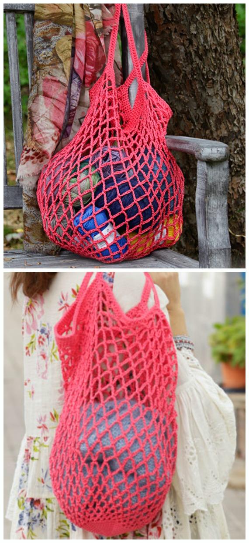 Crochet Market Bag Free Patterns