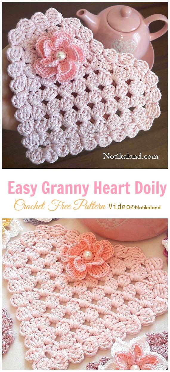 Easy Crochet Hearts Loops & Love Crochet   1250x570