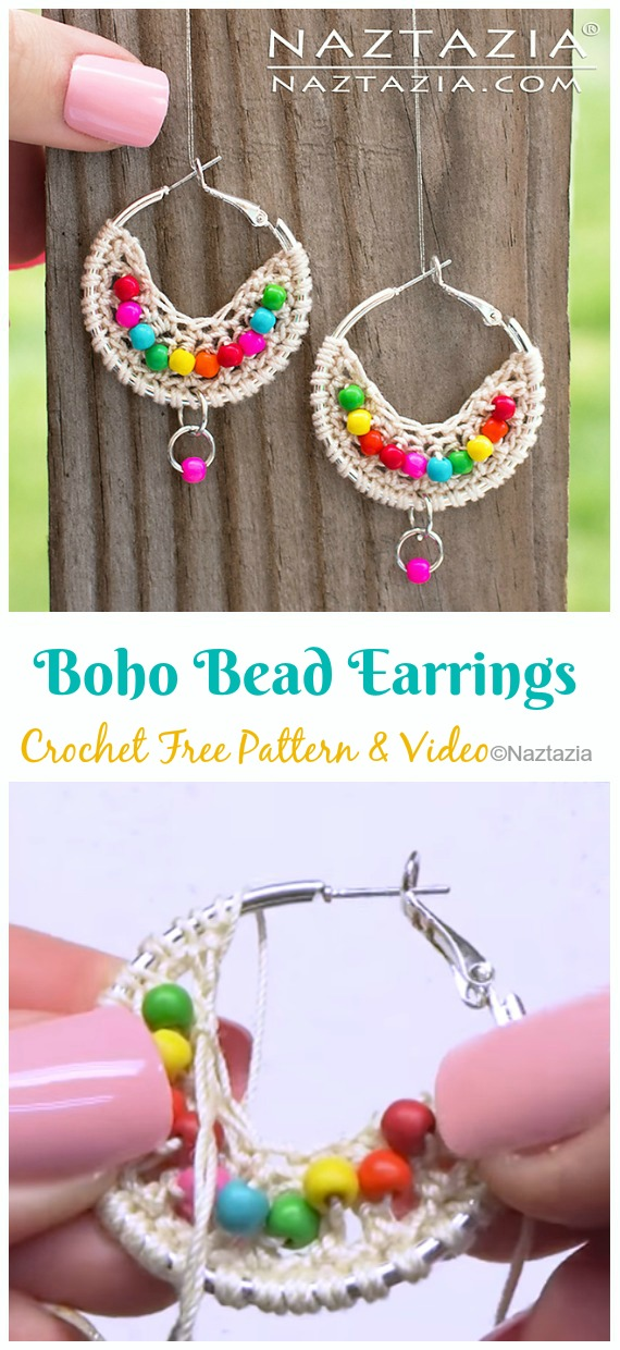 Beads Necklace - Free Crochet Pattern | Craft Passion | 1240x570