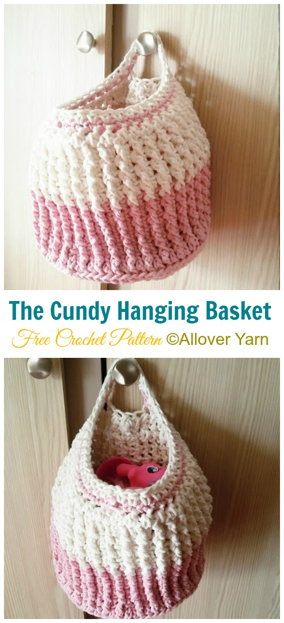 Crochet Storage Baskets Free Patterns | The WHOot | 1250x570