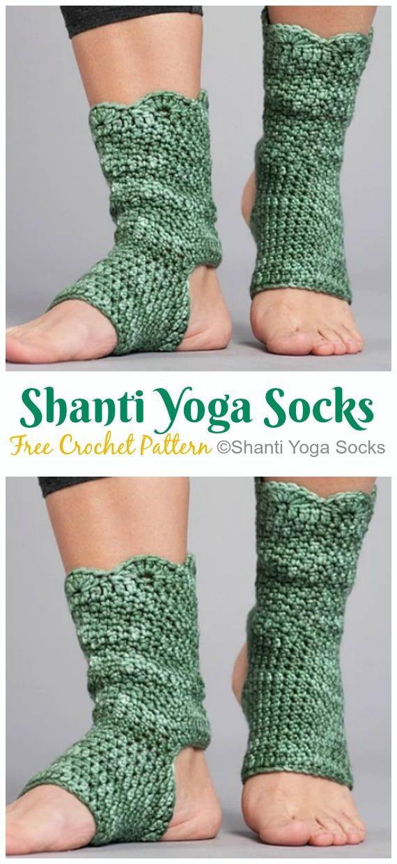 Yoga Socks Crochet Free Patterns Crochet Knitting