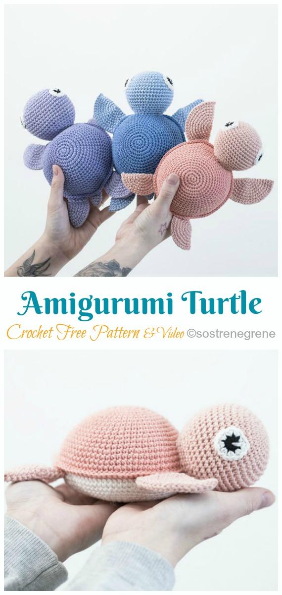 Turtle Toy Free Crochet Pattern By Yarnspirations On Ravelry ... | 1200x570