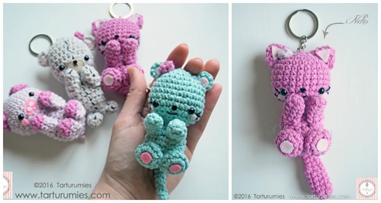 9 Awesome Crochet Cat Patterns | Free Knitting Patterns | Handy ... | 400x750